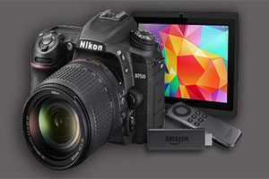 offers on cameras,discounts on tablets